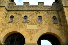 Forte romano de Arbeia, protetores sul, Inglaterra Fotos de Stock