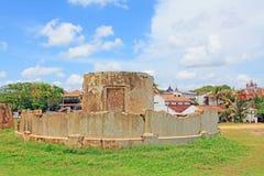 ` Forte s Lloyd Signal Station Base di Galle - patrimonio mondiale dell'Unesco dello Sri Lanka Immagine Stock Libera da Diritti