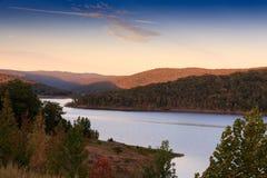 Forte Smith Lake imagens de stock
