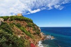 Forte Stella em Portoferraio Fotografia de Stock