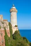 Forte Stella Lighthouse, Portoferraio. Stock Image