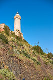 Forte Stella Lighthouse, Portoferraio, Royalty Free Stock Photos