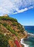 Forte Stella w Portoferraio Zdjęcie Royalty Free