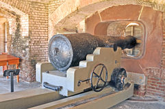 Forte Sumter: Casemate da artilharia Fotografia de Stock Royalty Free