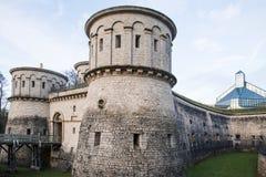 Forte Thungen na cidade de Luxemburgo, Luxemburgo Fotos de Stock Royalty Free