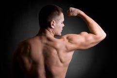 Forte uomo atletico Fotografia Stock Libera da Diritti