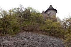 Forte velho em Somoska, Slovakia imagens de stock
