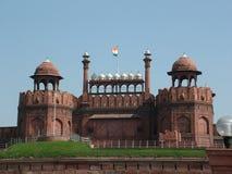 Forte vermelho. Deli, India fotos de stock royalty free
