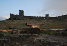 forteca Obraz Royalty Free