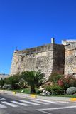 forteca antyczna ściana Fotografia Royalty Free