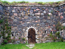 forteca do ściany Obrazy Stock