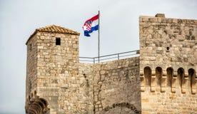 Forteca Dubrovnik zdjęcia royalty free