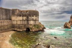 Forteca Dubrovnik obraz stock
