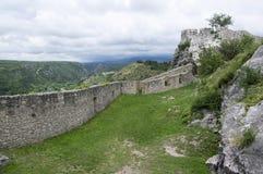 Forteca, miasto Knin, Chorwacja Fotografia Royalty Free