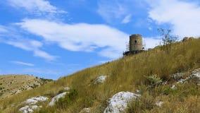 Forteca na halnej grani zbiory wideo