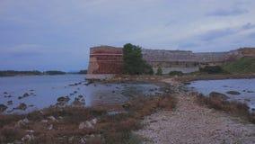 Forteca na morzu Zdjęcie Royalty Free