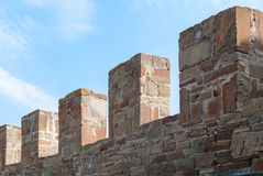 forteca pradawnych do ściany Obrazy Royalty Free