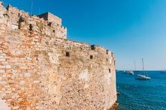 Forteca w Bodrum Zdjęcie Stock
