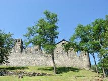 Forteca w Fenis Obraz Royalty Free
