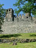 Forteca w Fenis Fotografia Stock