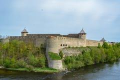 Forteca w Ivangorod Zdjęcie Stock