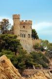 Forteca w Lloret De Mar Zdjęcia Royalty Free