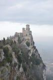 Forteca w San Marino Zdjęcia Stock