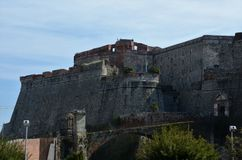 Forteca w Savona, Liguria, Włochy Fotografia Royalty Free