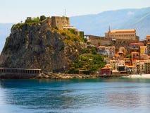 Forteca w willi San Giovanni, Włochy Zdjęcie Royalty Free