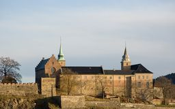 fortecy akershus Oslo Fotografia Stock