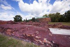 Forteczne ruiny Obrazy Royalty Free