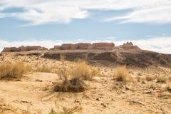 Forteczny Ayaz-Kala Antyczny Khorezm Obrazy Royalty Free