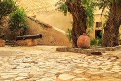 Forteczny Kasbah w Hammamet, afryka pólnocna Fotografia Stock