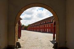 Forteczny Kastellet fotografia stock