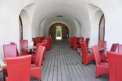 Forteczny Maria Therezia podwórze w Timisoara miasteczku od Banat okręgu administracyjnego w Rumunia obrazy royalty free