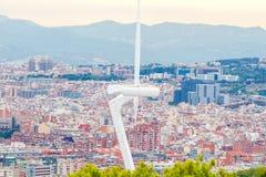 Forteczny Montjuic Barcelona fotografia royalty free