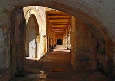 forteczny puerto rico spanish obraz stock