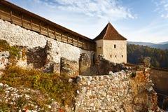 forteczny rasnov Romania zdjęcia stock