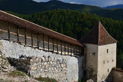 forteczny rasnov Romania zdjęcie stock