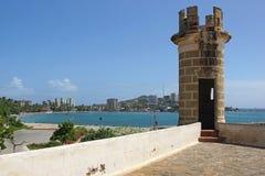 Forteczny San Carlos Borromeo, Pampatar, Isla Margarita Zdjęcie Stock