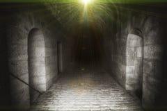 Forteczny tunel Obrazy Royalty Free
