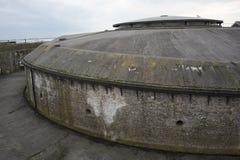 Forteiland Pampus o isla de Pampus del fuerte, isla artificial en el IJmeer, provincia de Holanda Septentrional, Países Bajos imágenes de archivo libres de regalías