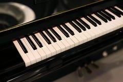 Fortepianowa i Fortepianowa klawiatura zdjęcia stock