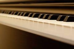 Fortepianowa klawiatura Zdjęcie Royalty Free