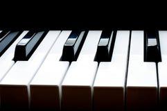 Fortepianowa klawiatura obrazy stock
