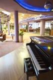 fortepianowa restauracja fotografia stock