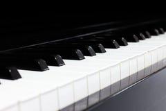 Fortepianowej klawiatury tło Obraz Royalty Free