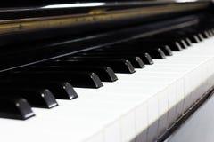 Fortepianowej klawiatury tło Obrazy Stock