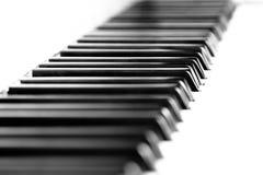 Fortepianowi klucze zdjęcia stock