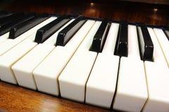 Fortepianowi klucze Zdjęcie Royalty Free